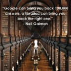 gaiman library quote