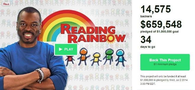 Bring Back Reading Rainbow